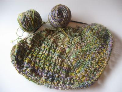 charlottes web shawl